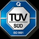 TÜV Süd ISO 9001 Siegel